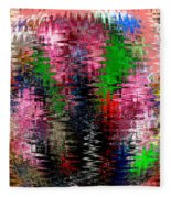 Jacks And Marbles Abstract Fleece Blanket