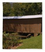 Jack's Creek Bridge Fleece Blanket
