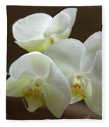 Jack's Orchids Fleece Blanket
