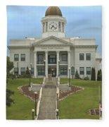 Jackson County Courthouse Fleece Blanket