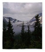 Jackson Glacier Fleece Blanket