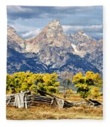 Jackson Hole Fleece Blanket