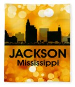 Jackson Ms 3 Fleece Blanket