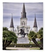 Jackson Square Fleece Blanket