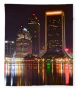Jacksonville Aglow Fleece Blanket