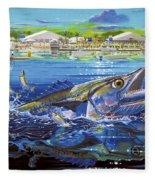 Jacksonville Kingfish Off0088 Fleece Blanket