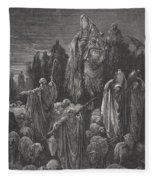 Jacob Goeth Into Egypt Fleece Blanket