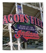 Jacobs Field - Cleveland Indians Fleece Blanket