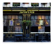 Jacob's Pub Fleece Blanket