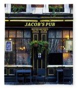 Jacob's Pub Fleece Blanket
