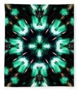 Jade Reflections - 4 Fleece Blanket