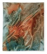 Jagged Edges Fleece Blanket