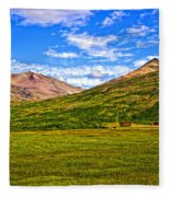 Jagged Peaks Fleece Blanket