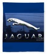 A Gift For Dads And Jaguar Fans Fleece Blanket
