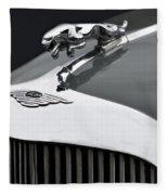 Jaguar Mk Ix Hood Fleece Blanket
