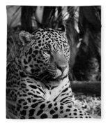 Jaguar Mono Fleece Blanket