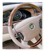 Jaguar S Type Interior Fleece Blanket