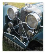 Jaguar Ss100 Fleece Blanket