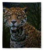 Jaguar Two Fleece Blanket
