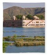 Jah Mahal Palace Fleece Blanket