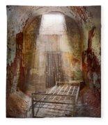 Jail - Eastern State Penitentiary - 50 Years To Life Fleece Blanket
