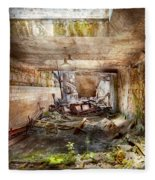 Jail - Eastern State Penitentiary - The Mess Hall  Fleece Blanket
