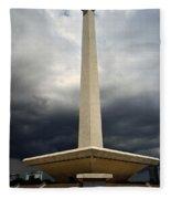 Modernism In Jakarta Fleece Blanket