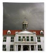 Jakarta Town Hall Fleece Blanket