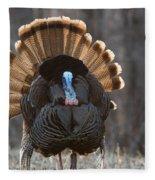 Jake Eastern Wild Turkey Fleece Blanket