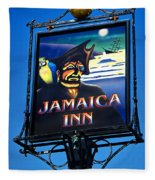Jamaica Inn On Bodmin Moor Fleece Blanket