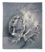 James Spader Fleece Blanket
