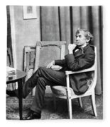 James Whistler (1834-1903) Fleece Blanket