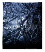 Jammer Blue Hematite 001 Fleece Blanket