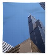 Jammer Chicago 004 Fleece Blanket