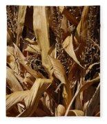 Jammer Corn Abstract 001 Fleece Blanket