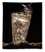 Jammer Crystal Ice Torch  Fleece Blanket