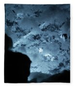 Jammer Deep Blue 001 Fleece Blanket
