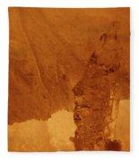 jammer Fire and Ice 001 Fleece Blanket
