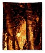 Jammer Fire And Ice 022 Fleece Blanket