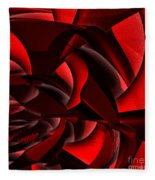 Jammer Rose 005 Fleece Blanket
