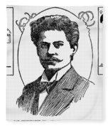 Jan Szczepanik (1872-1926) Fleece Blanket