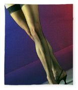 Jane Legs 1-1 Fleece Blanket