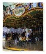 Jane's Carousel 1 In Dumbo Fleece Blanket