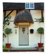 Janes Cottage Nether Wallop Fleece Blanket