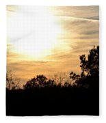 January 2013 Sunset Fleece Blanket