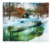 January Thaw Fleece Blanket