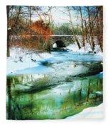 January Thaw Fleece Blanket