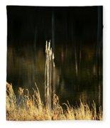 January's Gold 2013 Fleece Blanket