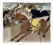 Japan Boshin War, 1868 Fleece Blanket