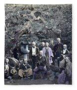 Japan Group Portrait, C1866 Fleece Blanket